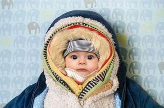 Como vestir a un bebe en invierno
